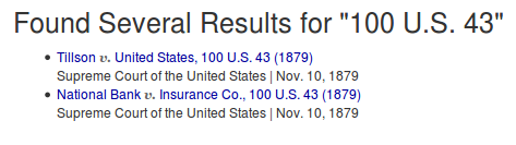 Several Results Found