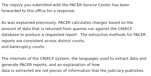 "What is a ""Page"" of PACER Content? - Free Law Project"